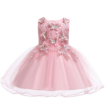 New Lace Baby Girl Dress 2-10 Years Baby Girls Birthday Dresses Vestido Birthday Party Princess Dress bbwowlin baby girl dresses suits vestido infantil for 0 2 years kids christmas birthday party 9071
