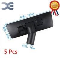 5Pcs High Quality 15L 30L Vacuum Cleaner Accessories Floor Brush Dust Pa Head Diameter 36mm Vacuum