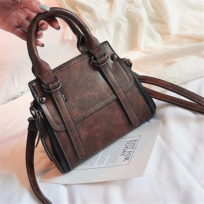 Women Stylish Motorcycle Handbags Ladies European Style Classic Chic Soft Travel,Light gray,28CM