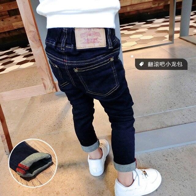2016 весной и осенью новые детские джинсы карандаш брюки мальчиков baby дети мода девушка джинсы дети случайные брюки новый стиль