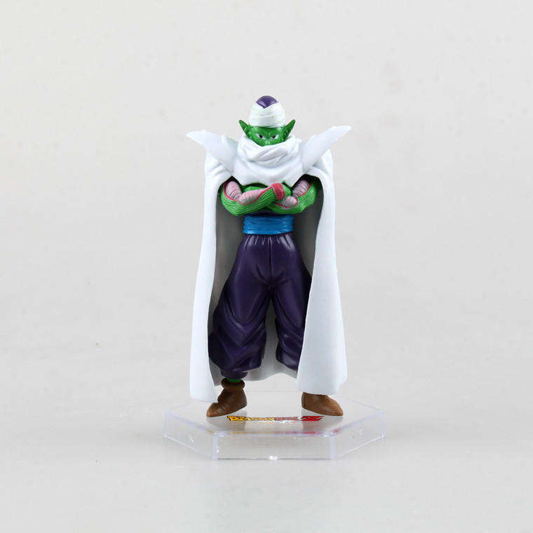 6Parts / sets 10cm anime Dragon Ball z son goku vegeta Piccolo action figure pvc collection model garage kit toy doll 4parts sets super lovely chopper anime one piece model garage kit pvc action figure classic collection toy doll