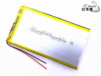 10 unids/lote litro energía batería recargable de la batería lipo batería de 3,7 V 8873130 de 10000 mah tablet batería de polímero de litio