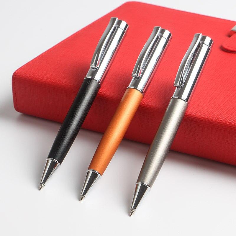 Ny brevpapper för kulpapper för skrivande kontorsmateriel Presentpennor Anpassad logotyp Reklampenna P766