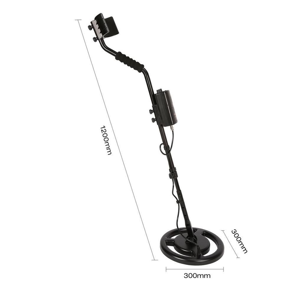 Capteur intelligent AR944M détecteur de métaux souterrain professionnel réglable or argent Finder traqueur de trésor chercheur 1.8 m de profondeur