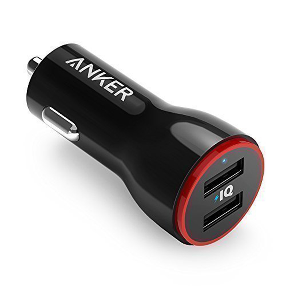 Anker 24W Dual USB Car Charger PowerDrivs
