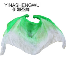 Belly Dance Props Women Silk Veils Veil For Girls green+light green+white