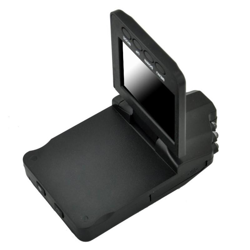 2.5 Inch TFT Car DVR with 6 LED Lights Auto Car Camera Video Recorder Dash Cam Motion Detection Night Vision G-Sensor 12