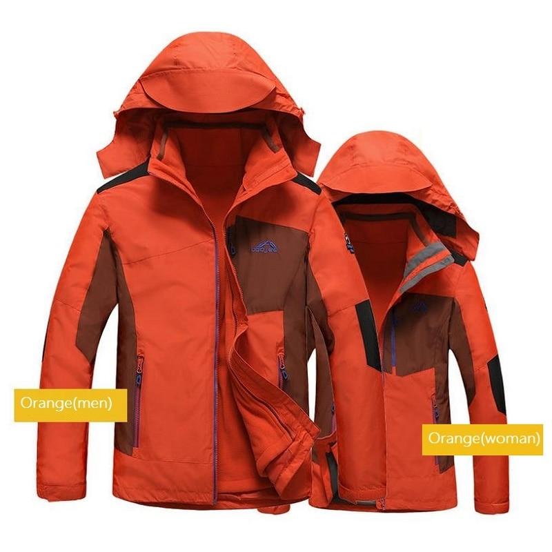 Homme veste randonnée vêtements chauffé Sport chasse vêtements hiver polaire Trekking mammouth extérieur imperméable pêche manteau Softshell