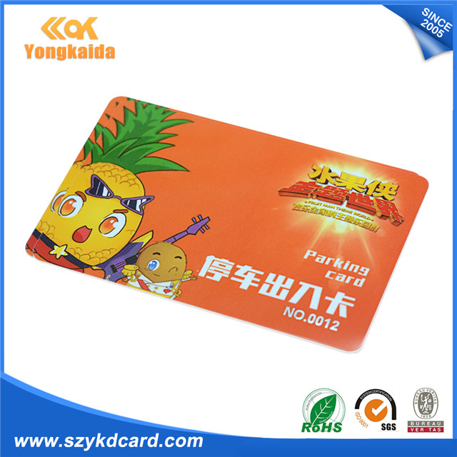 YongKaiDa 500pcs favorable Price At24C02 Ic printed Chip Pvc smart Card