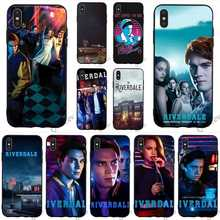 Slim Archie Betty Veronica Riverdale Phone Cover for iPhone 8 Case 7 Plus Xs Max XR X 6 6S 5S 5 SE Cases Skin поло adidas adidas ad002ebcdan0