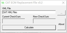 ecm replacement file Calculator