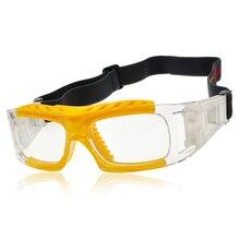 Новое поступление 1 комплект баскетбольные футбольные очки близорукость очки оправа спортивные очки защитные очки 5 цветов PC объектив