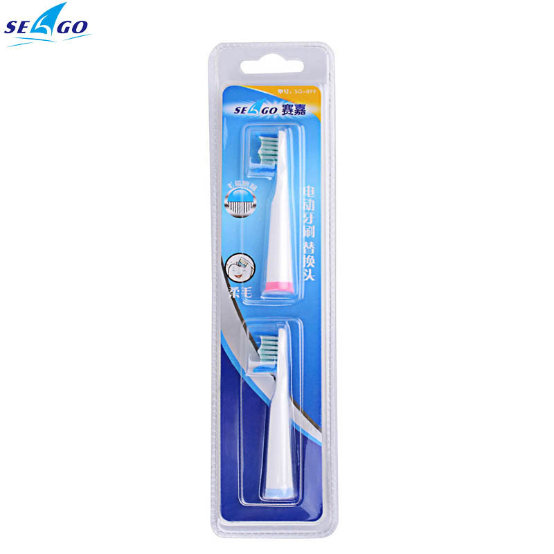 Seago Electric Tooth Brush Head Replacement Product Oral Hygiene Toothbrushes Heads 2pcs Care Oral Hygiene Clean Teeth Tools 2pcs philips sonicare replacement e series electric toothbrush head with cap