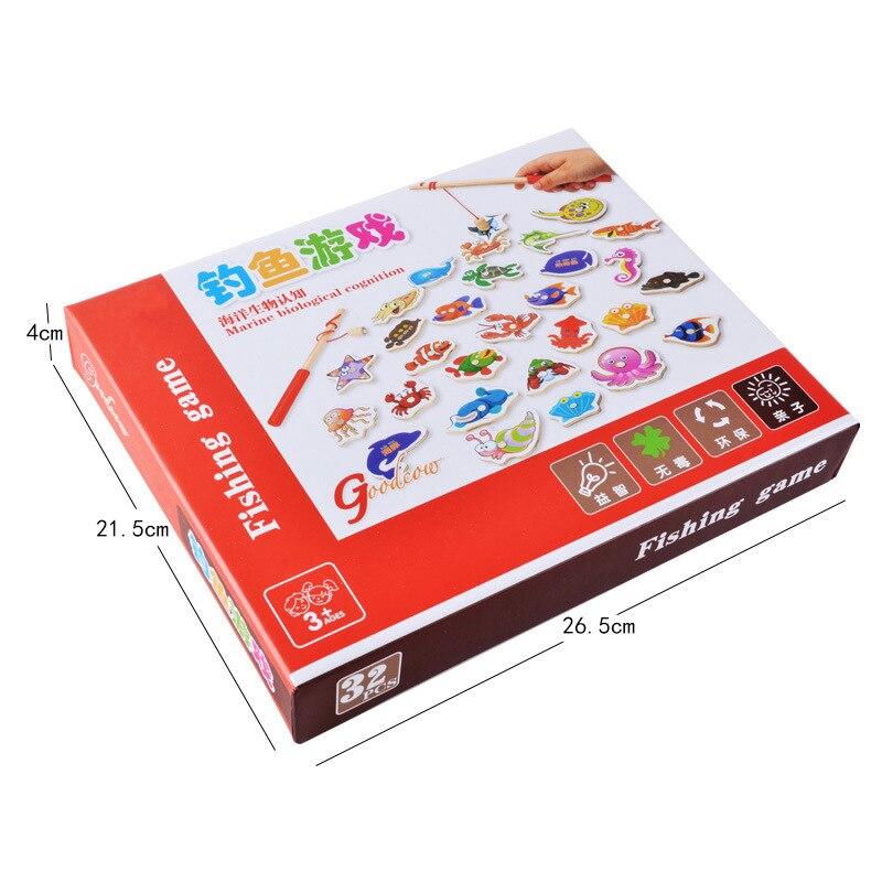 Kids-Fishing-Toys-32Pcs-Fish-Wooden-Magnetic-Fishing-Toy-Set-Fish-Game-Children-Educational-toys-for-Boy-G-4