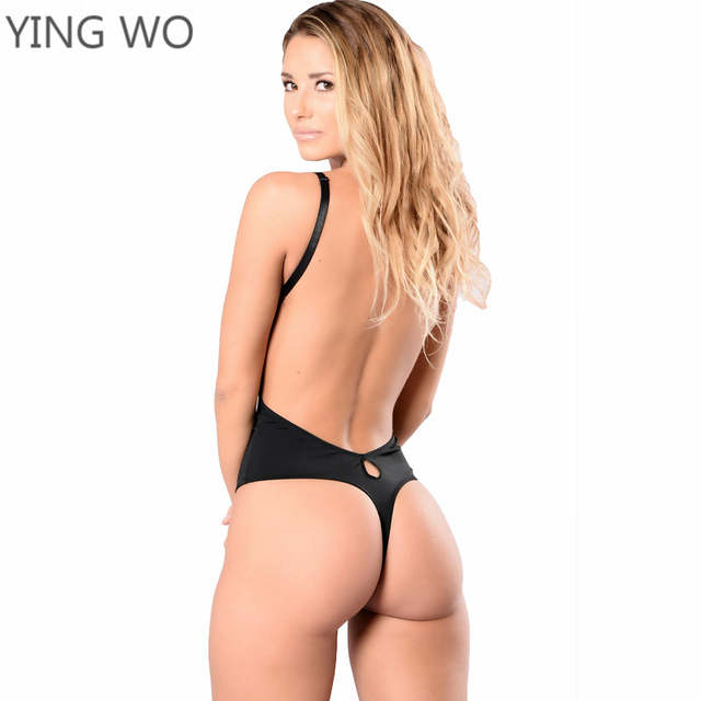 placeholder Black Plus Size Molded Body Thong Shaper Open Back Multi Way  Tummy Control Bodysuit Invisible Seamless 7d73baa59