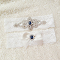 Bridal Garter Set Crystal Rhinestone Wedding Garter