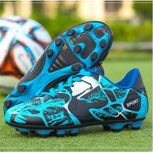 2019 Cheap Kids Soccer Cleats Football Shoes Men Outdoor Lawn Sneakers Boy Trainers New Design Boots Sports Shoe