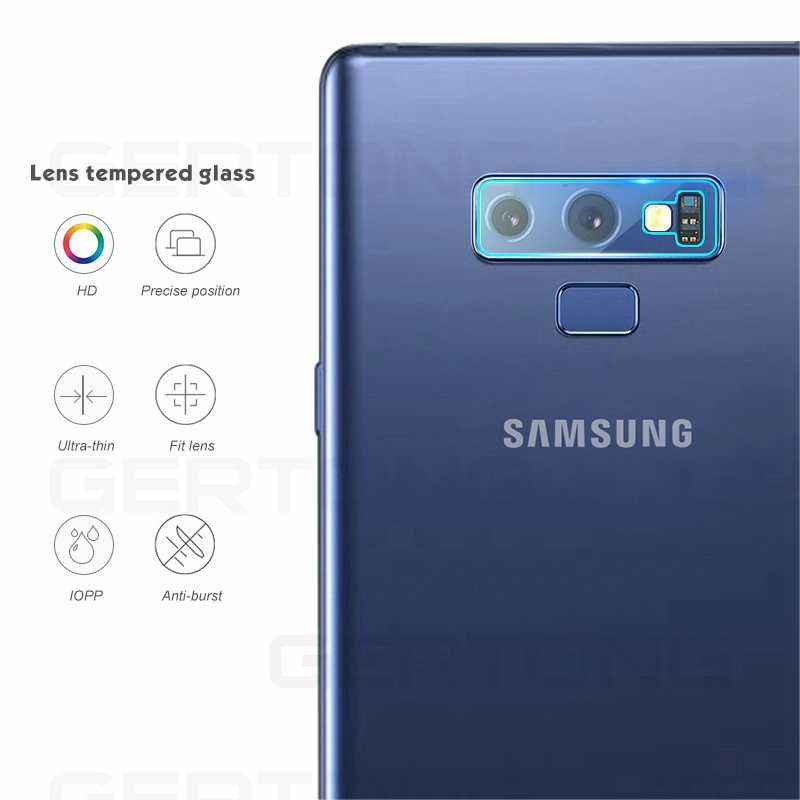 Back Camera Protective Film For Samsung Galaxy S9 Plus S8 Plus A6S A8 Plus 2018 Note 9 Note 8 Note9 Note8 Tempered Glass Film