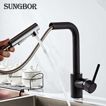 kitchen faucet head quality Brass chrome Pull Out kitchen sink faucets Mixer tap grifo cocina robinet cuisine torneira CF-9116H - DISCOUNT ITEM  41% OFF All Category