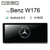 OZGQ Car Multimedia Player For Mercedes Benz A CLA GLA Class W176 2012 2018 With 10.25 inch Screen 8 Core GPS WiFi Radio Stereo
