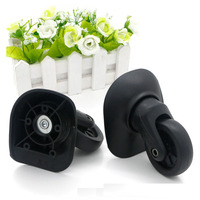 2 Pcs Left Right Replacement Luggage Bag Wheels Universal Wheel Spinner Wheel For Any Bags Swivel