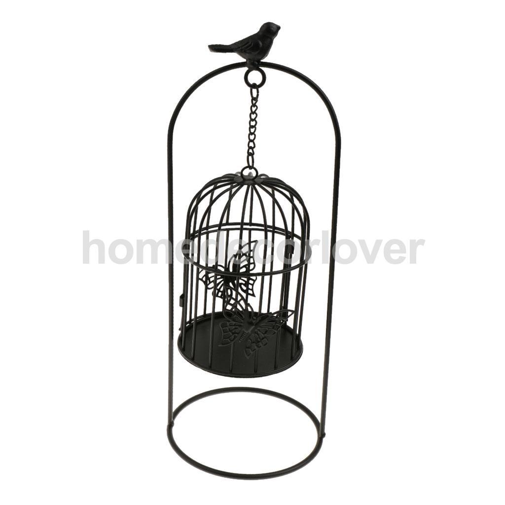 Exquisite Wedding Decor Candlestick Bird Cage Table Decor Wrought ...