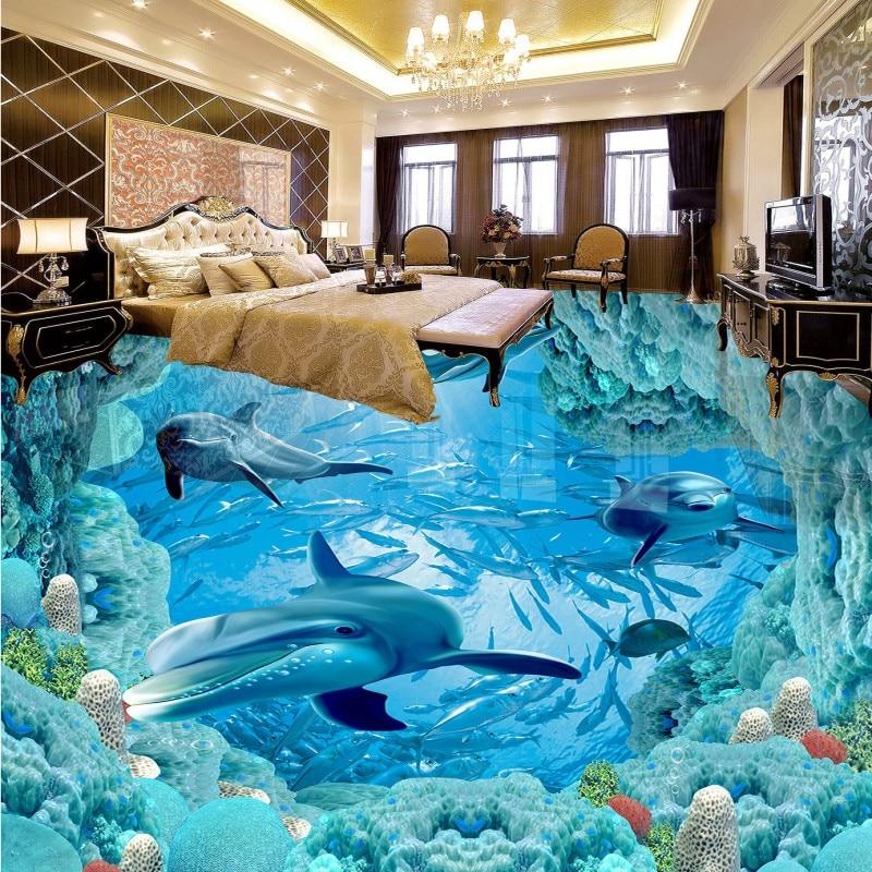 Freies verschiffen nach Unterwasserwelt Dolphin 3D Boden wasserfest ...