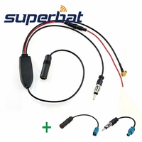 Superbat FM AM To DAB DAB FM AM Car Radio Aerial Amplifier Converter Splitter And Fakra