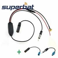 Superbat FM AM To DAB DAB FM AM Car Radio Aerial Amplifier Converter Splitter And Fakra
