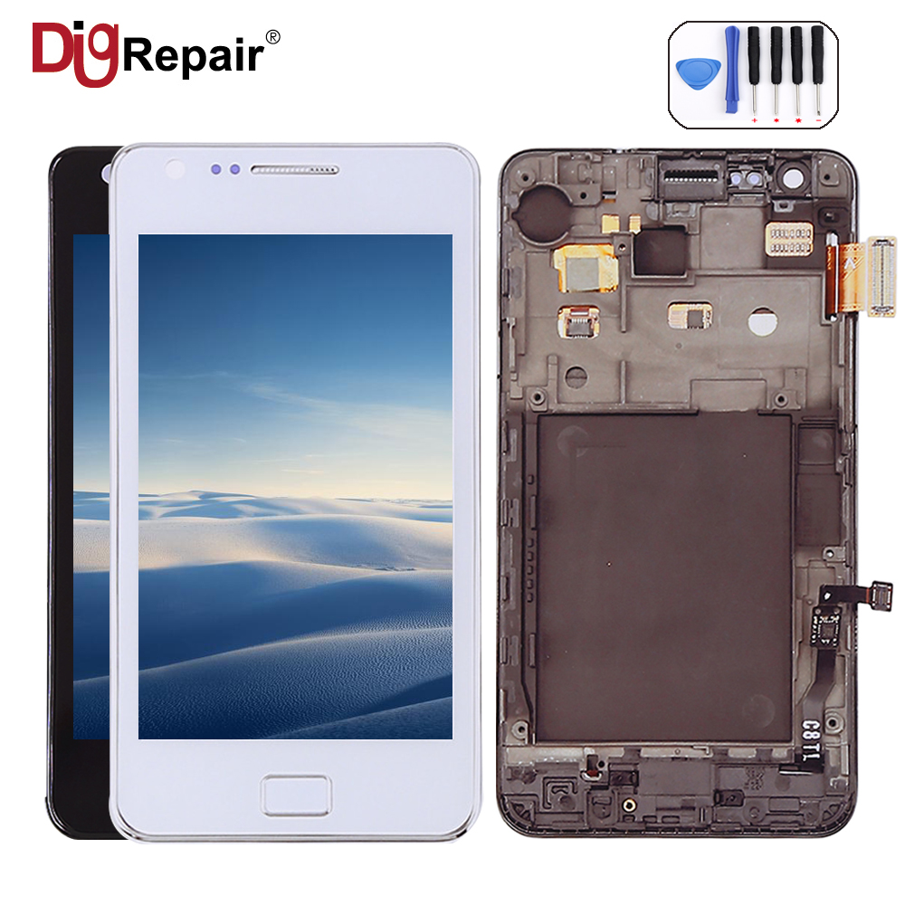 For Samsung Galaxy S2 SII I9100 LCD Display Touch Screen