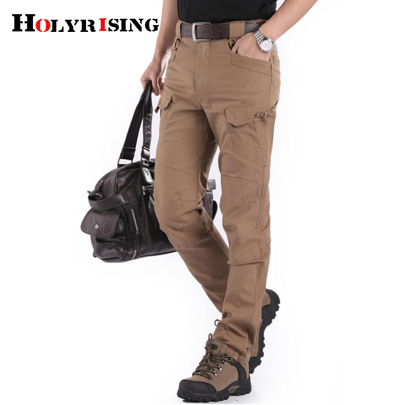 INFLATION Ankle Tied Pants 2019 New Men Black Trousers Male Bound Feet Trousers Tops Ins Swag