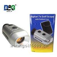 Digital rangefinder 7 x 18 binoculars Golf Range Finder Golfscope Scope + Bag