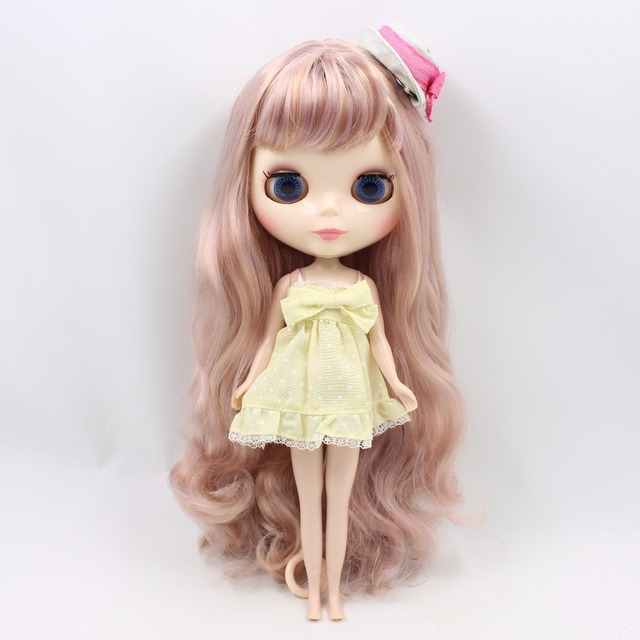 TBL Neo Blythe Doll Golden Violet Hair Regular Body