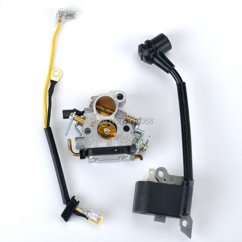 New Carburetor+Ignition Coil Fit Husqvarna 235 240 Chainsaw #57471940 545 07 26-01