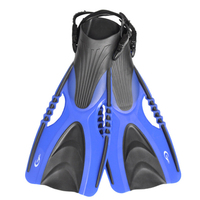 Adjustable Snorkel Swim Fins Neoprene Swimming Flipper Anti slip Diving Fins For Adults Neoprene Flippers For Snorkeling Surfing
