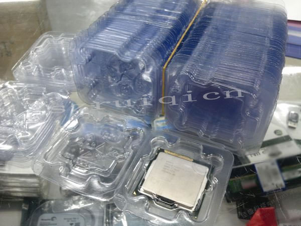 Lot CPU Case Holder Tray Box Plastic Protect For Intel Socket 775 1150 1156
