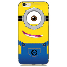 Case Cover with Minion for iPhone