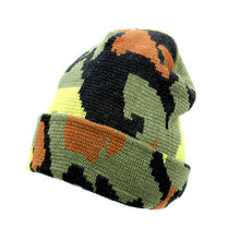 8d365466dd7 Men Baggy Beanie Winter Hat Ski Slouchy Chic Knitted Cap Skull Camouflage  Knitted Men s Acrylic Cap · 2 Colors Available