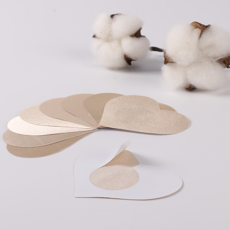 5 Pairs Women's Invisible Breast Lift Tape Overlays On Bra Nipple Stickers Adhesive Bra Chest Stickers Nipple Cover Intimates