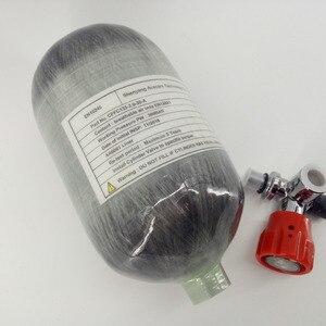 Image 4 - AC5201Fashion 2L 4500PSI 300bar Paintball PCP Serbatoio HPA In Fibra di Carbonio Cyliner per Airforce Condor Tiro Al Bersaglio e Calibro Acecare