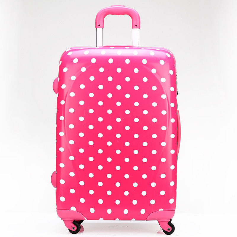 New Women Travel Suitcase ABS PC Universal Wheels Trolley Luggage ...