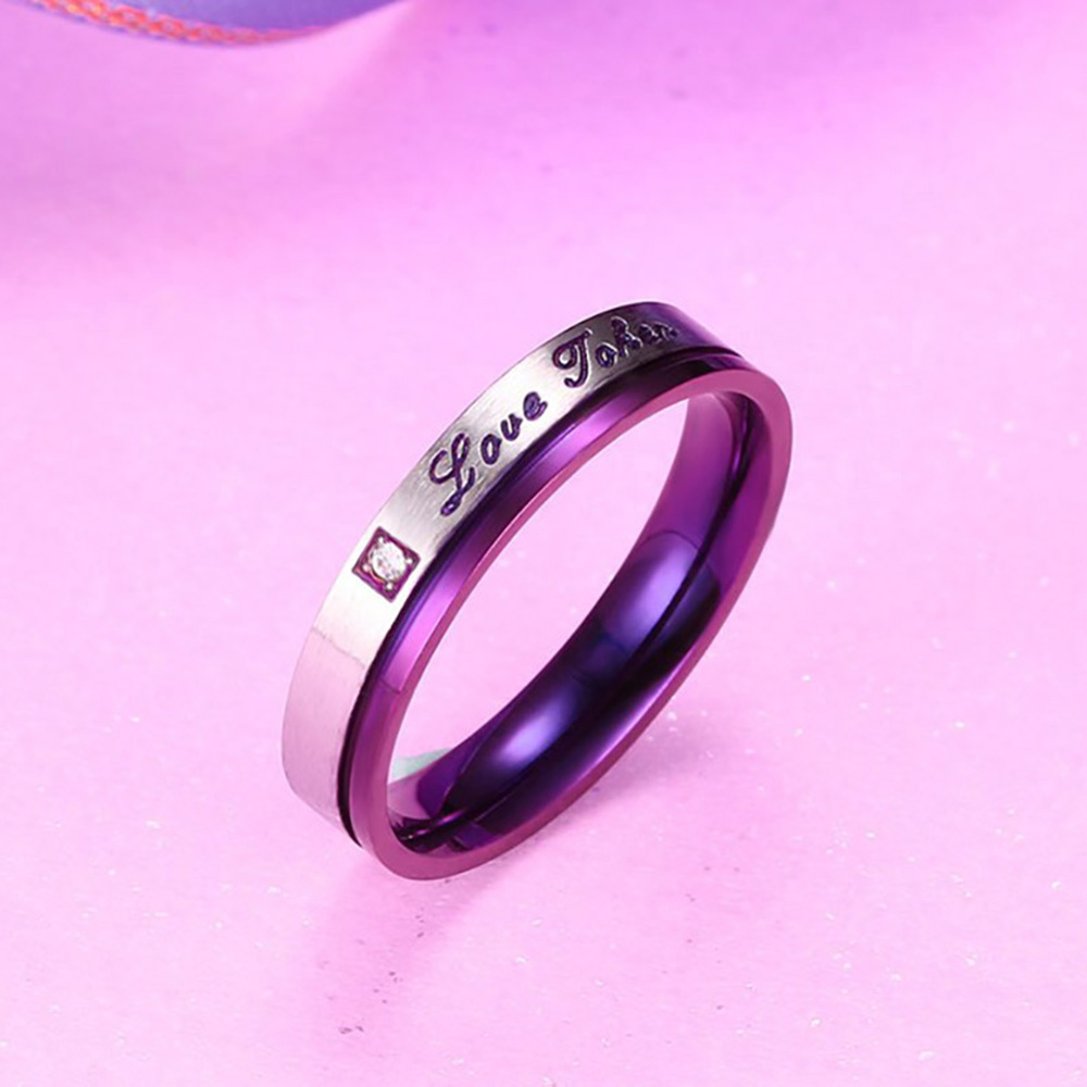 Lover Ring Valentine Gifts Women Men\'s \