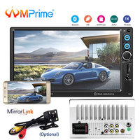 AMPrime 2din Car Radio Autoradio 7 2 din Touch Screen Multimedia Player Auto audio Car Stereo MP5 Bluetooth Android Mirror link