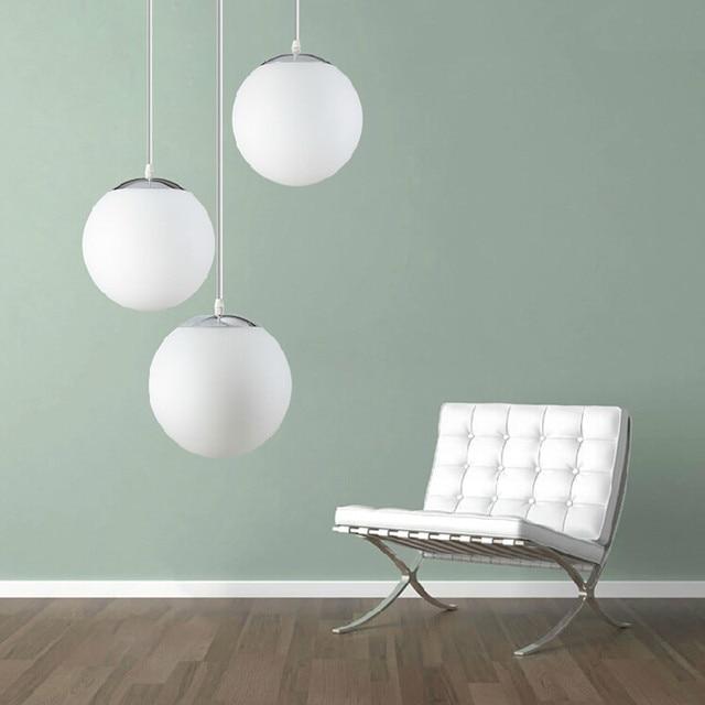 Modern Pendant Light Glass Pendant Lamp lustres Globe Ball Hanging