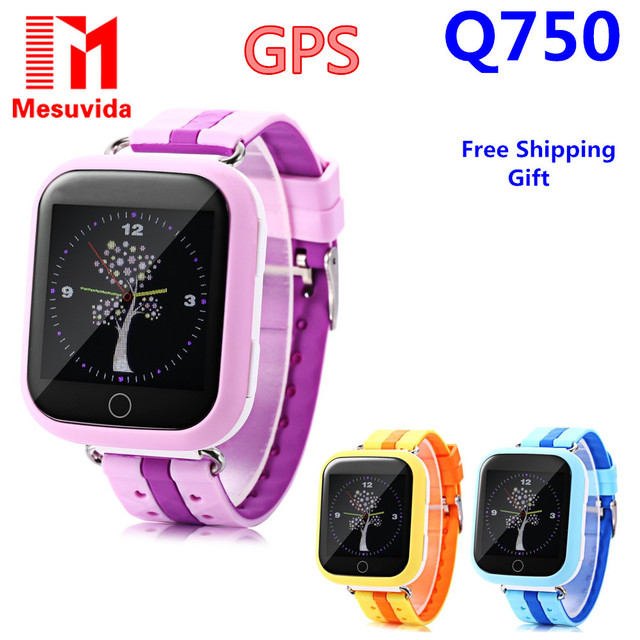 GPS Smart Watch Q750 Q100 Baby Watch With Wifi 1.54inch Touch Screen SOS Call Location Device Tracker for Kid Safe PK Q50 Q90