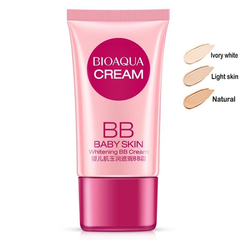 BIOAQUA Cover BB Cream Concealer Whitening Moisturizing Base Face Foundation Makeup BB Cream
