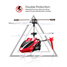 SYMA W25 2CH RC Helicopter Shatterproof for Kids