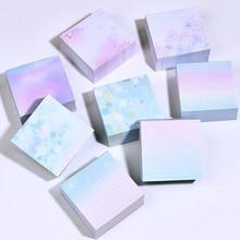 400Sheets/Pack Creative Square Sakura Notes Memo Pad Kawaii Notepad Note Paper 400 Sheets Note Pad Stationery
