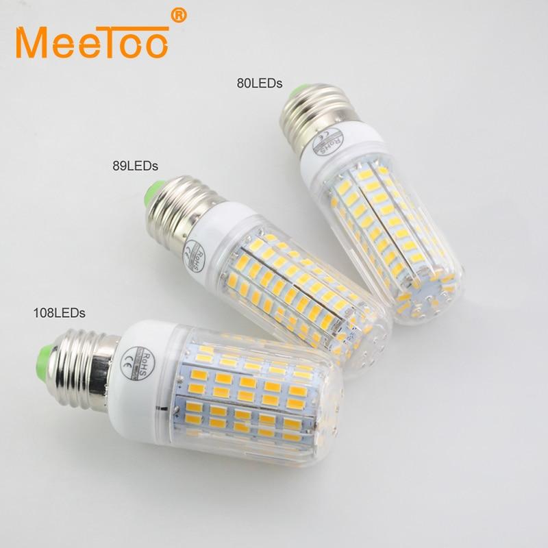 design 4st 5730 smd e27 e14 led corn lamp 24 108led 220v 230v 240v power equal incandescent. Black Bedroom Furniture Sets. Home Design Ideas