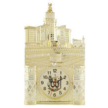 Muslim Prayer Home Room Decor Vintage Islamic Mosque Azan Wall Clock Gift Hot Sale